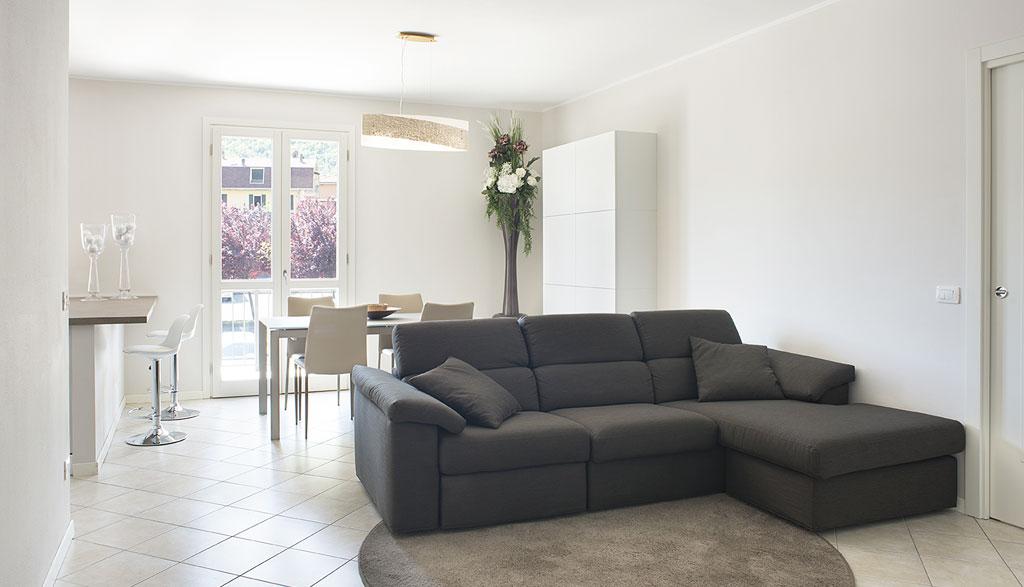 Progettazione d'interni: abitazione in provincia di Brescia