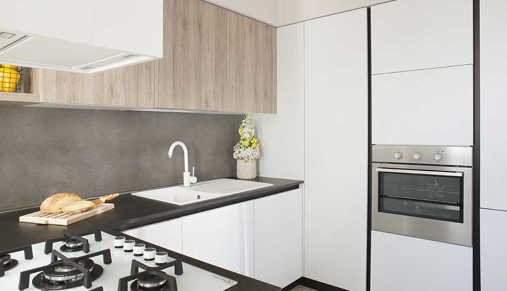 Progettazione interni a Brescia: cucina