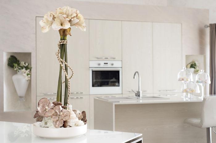 Interior design, vista su cucina