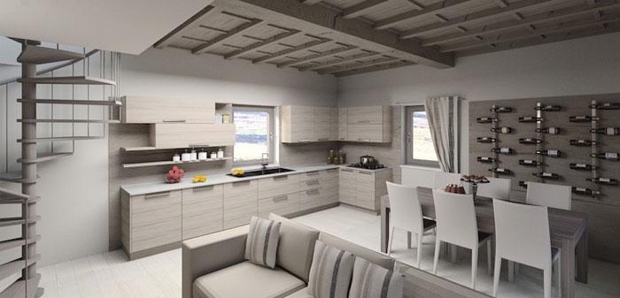 Progettazione d 39 interni per abitazioni e uffici for Arredamento architettura interni