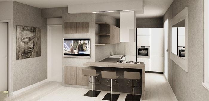 Progettazione d 39 interni per abitazioni e uffici for Arredamento casa per disabili