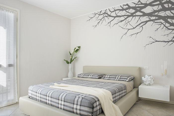 Architettura interni: camera da letto