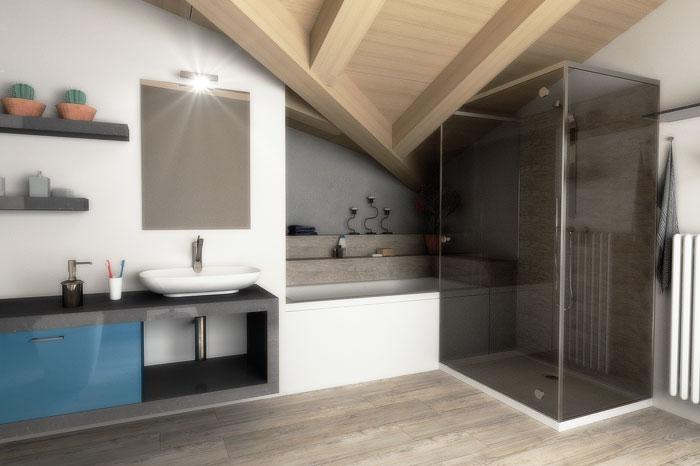 Progetto Di Arredamento Casa: Bagno