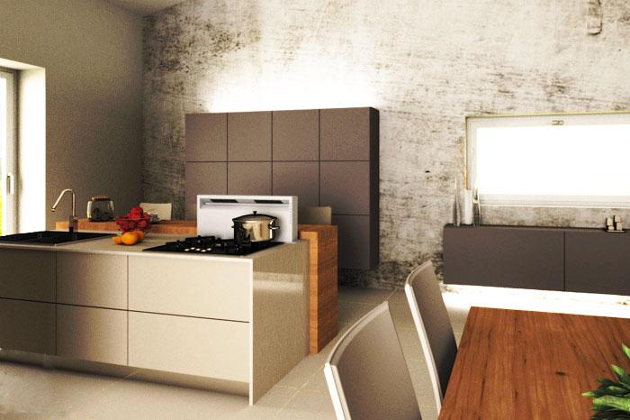 Interior design in appartamento
