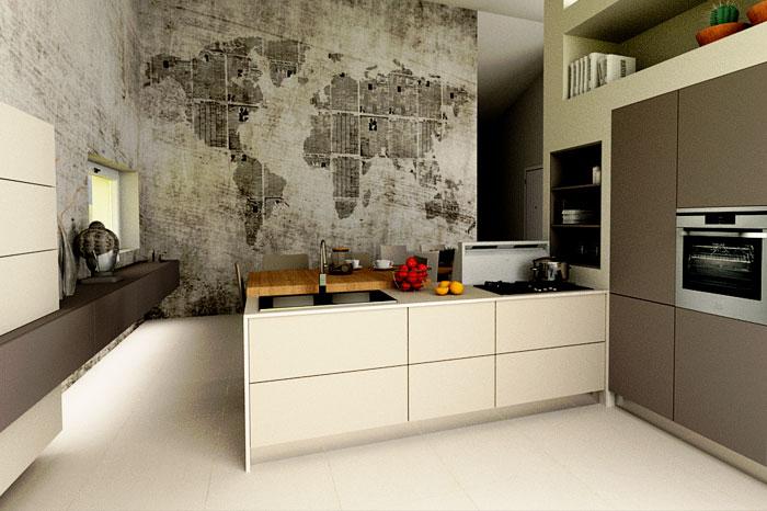 Una cucina realizzata dal nostro team di progettazione d'interni