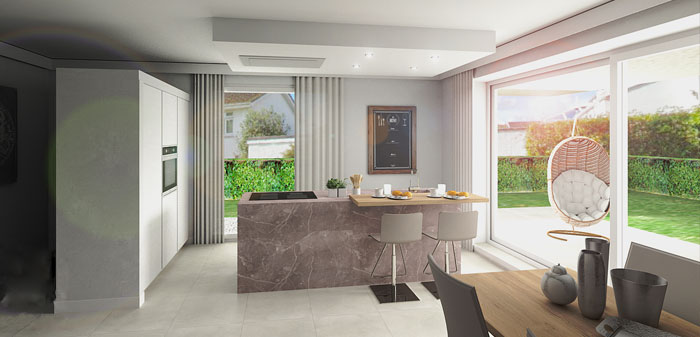 Progettazione d 39 interni per abitazioni e uffici for Abitazioni interni