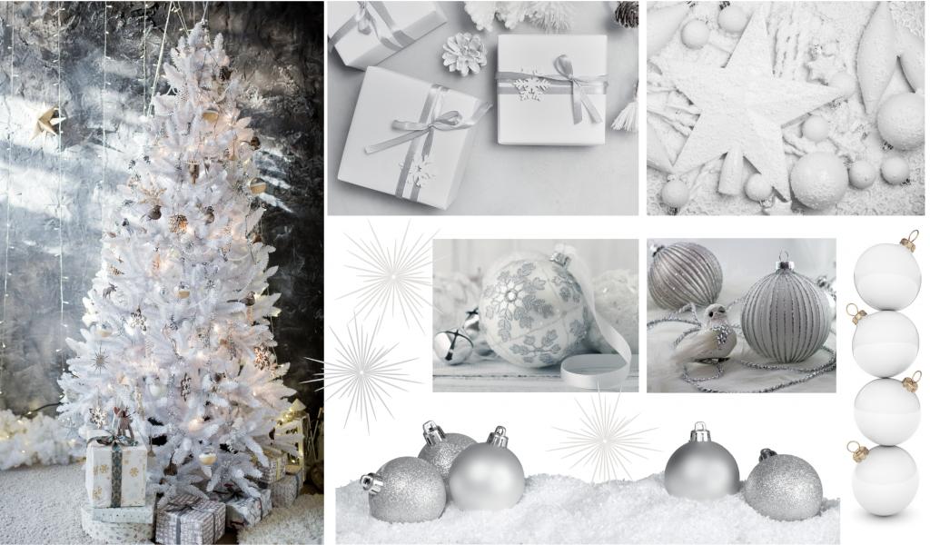Interior Style Natalizio: 7 Christmas Tree Moodboard per ispirarti!